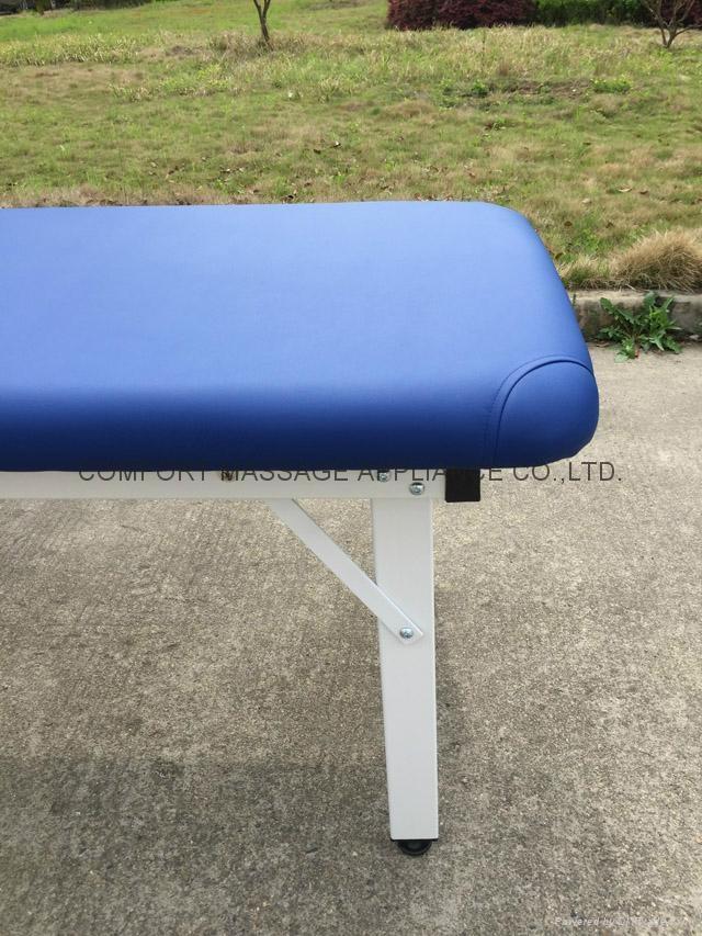 iron stationary massage table beauty bed 7