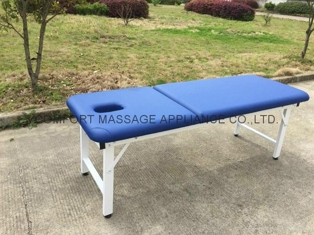 iron stationary massage table beauty bed 6