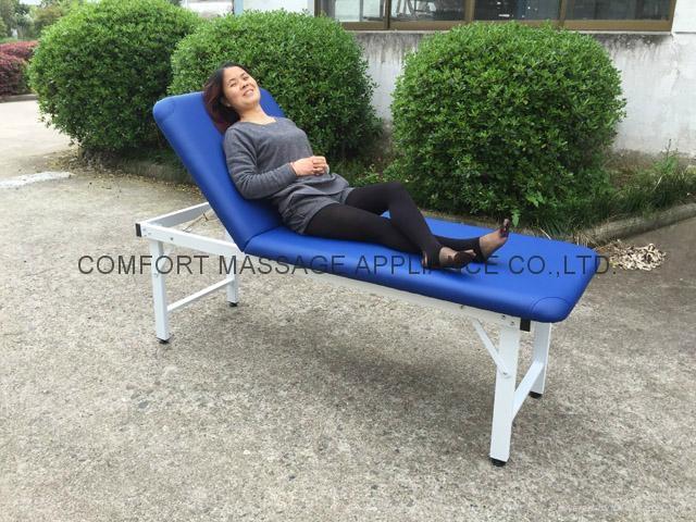 iron stationary massage table beauty bed 3