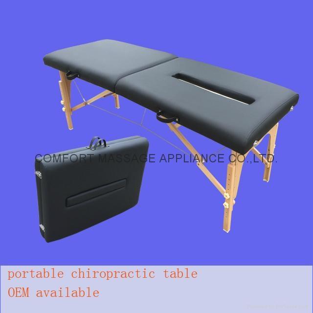 可折疊實木整脊床 美式整脊床脊柱梳理床 1