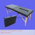 wooden chiropractic table MTL-013