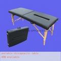 wooden chiropractic table MTL-013