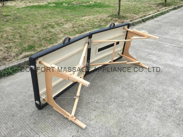 可折疊實木整脊床 美式整脊床脊柱梳理床 4