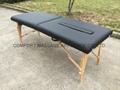 可折疊實木整脊床 美式整脊床脊柱梳理床 2