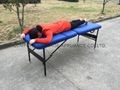 CMT-002金屬三折按摩床-容易收折型