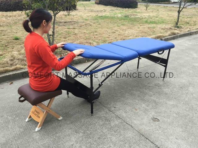 CMT-002金屬三折按摩床-容易收折型 7