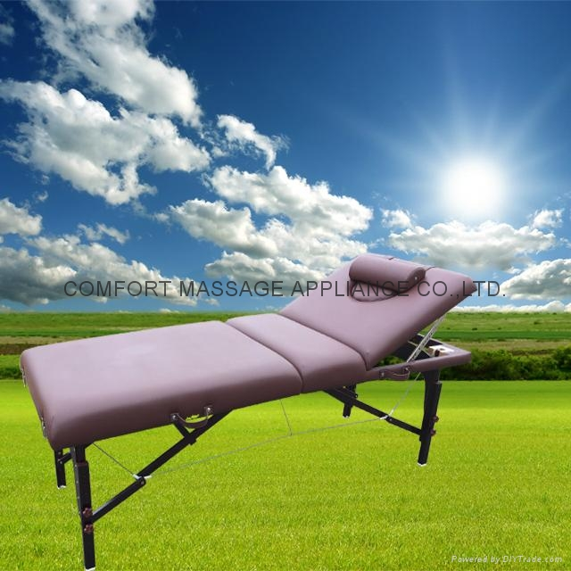 red brown beech MT-009-2H massage table