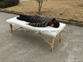 economic portable wooden massage table
