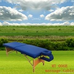 MT-006B便携式按摩床配有调节枕头