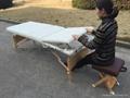 MT-009 wooden massage table 4