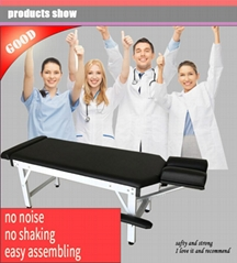 stationary disassembling chiropractic table
