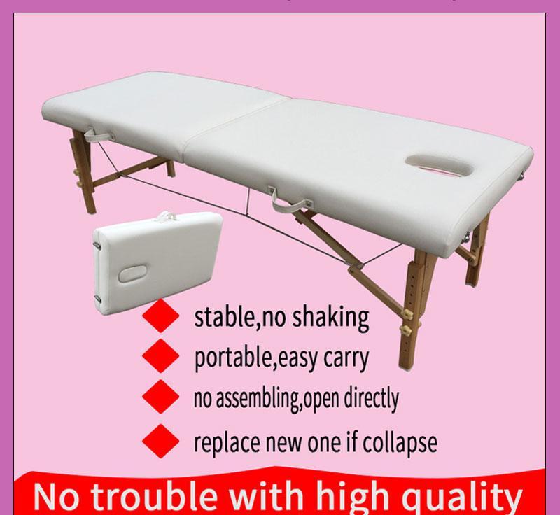 經典折疊木製按摩床MT-003 3