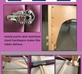 經典折疊木製按摩床MT-003 8