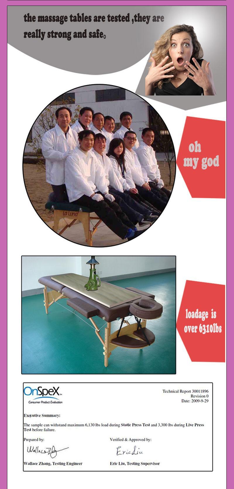 經典折疊木製按摩床MT-003 10