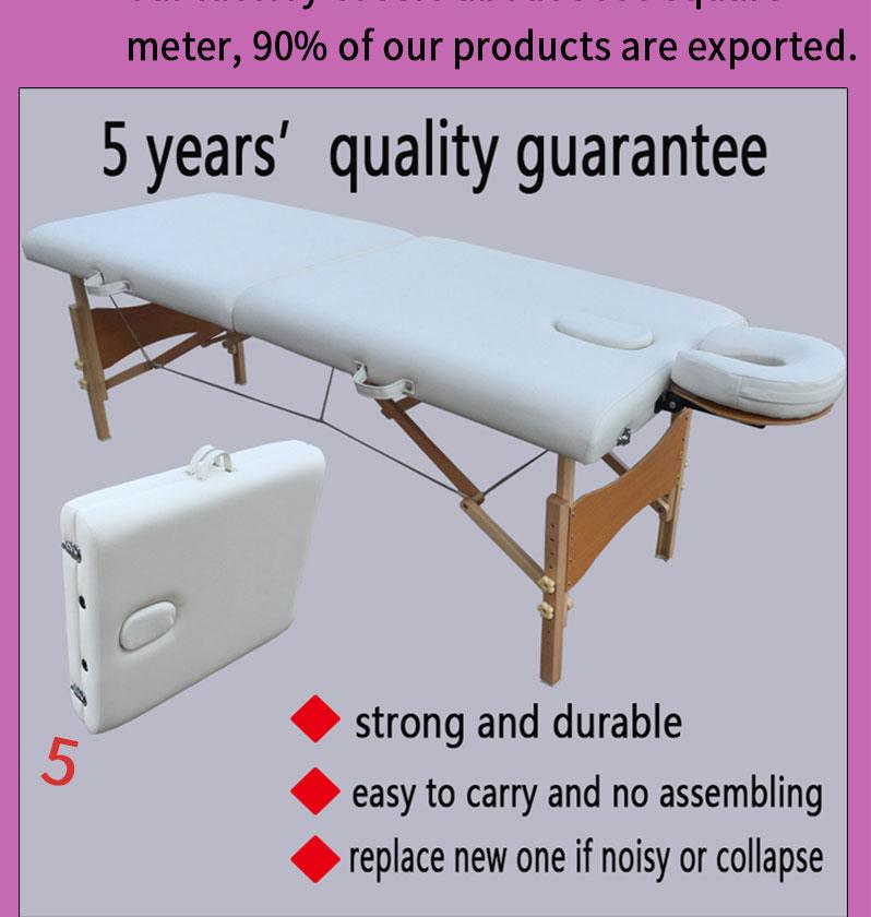 promotional portable massage table MT-006W with headrest 3