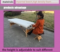 promotional portable massage table MT-006W with headrest 5
