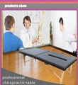 wooden chiropractic table massage table massage bed