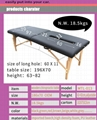 wooden chiropractic table massage table massage bed 4