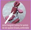 轻型铝合金按摩椅美容椅按摩器材 5