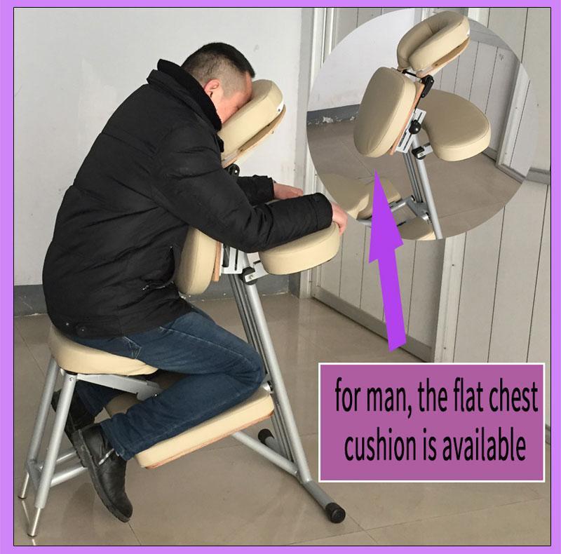 轻型铝合金按摩椅美容椅按摩器材 6