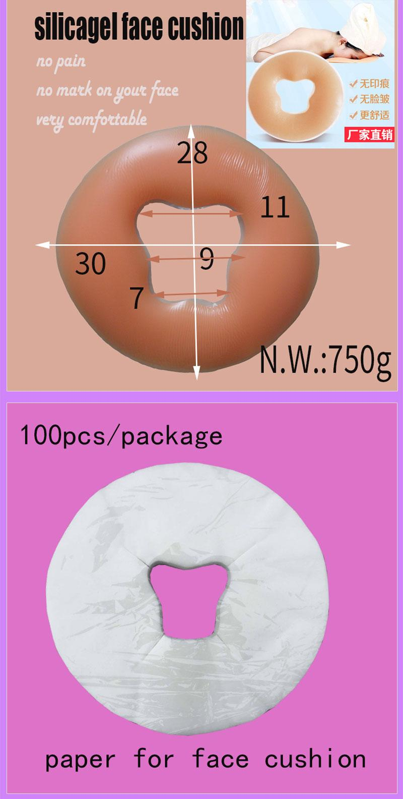 accessories for massage table and massage bed carry bag,bolster,sheet and paper 3