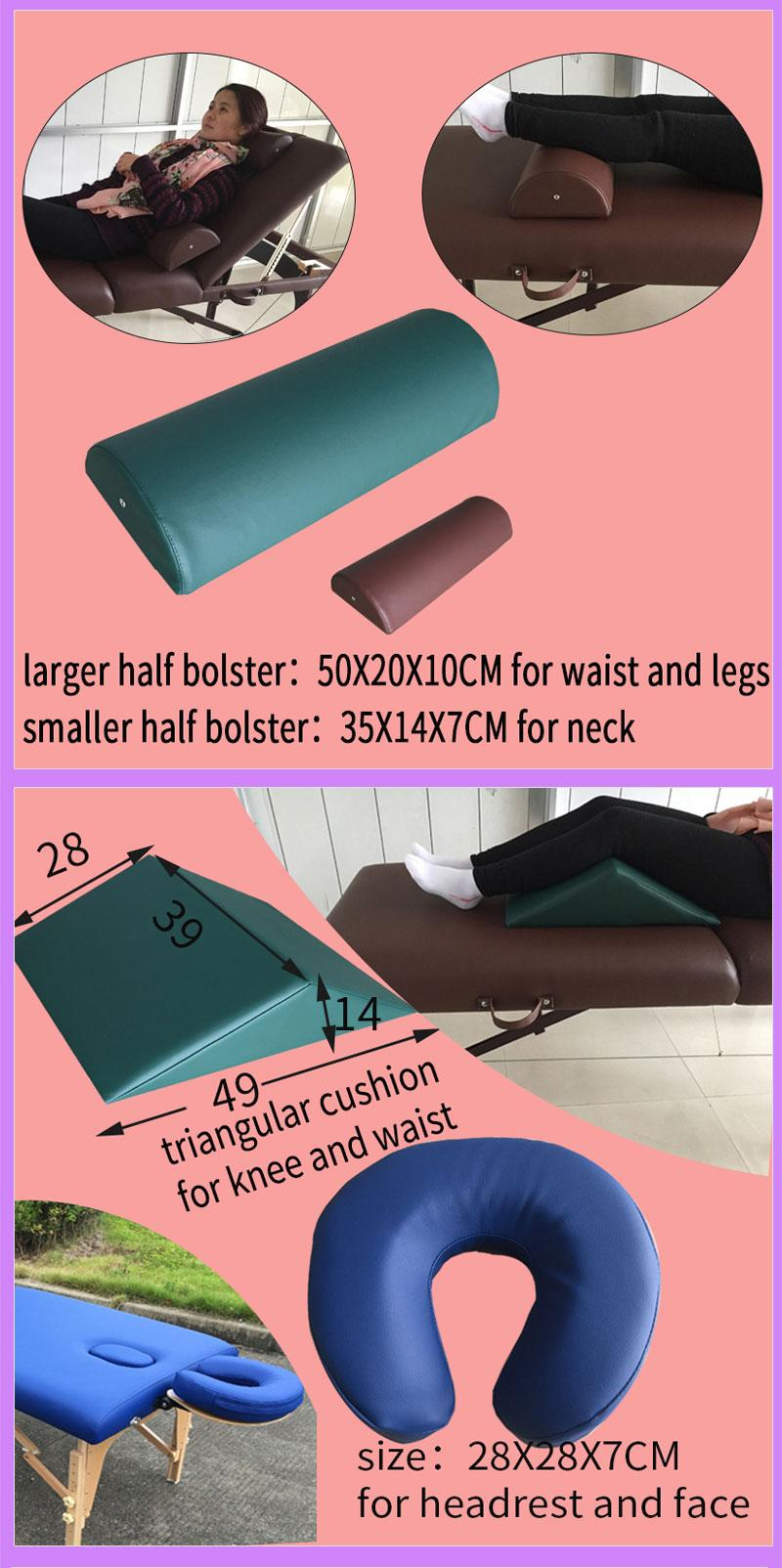 accessories for massage table and massage bed carry bag,bolster,sheet and paper 4