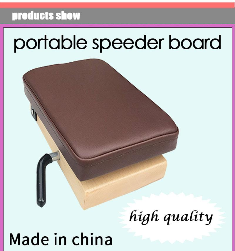 portable chiropractic board speeder board adjusting board for chiropractic