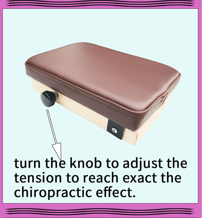 美式整脊頓壓板四肢關節矯正訓練板便攜式頓壓板小墜板 4