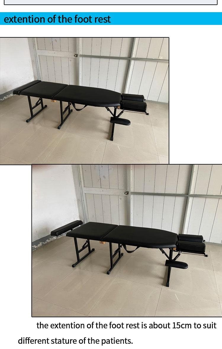 chiropractic table with adjustable height massage table examination table 4