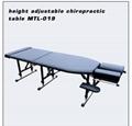 高度调节新款美式整脊床中医正骨