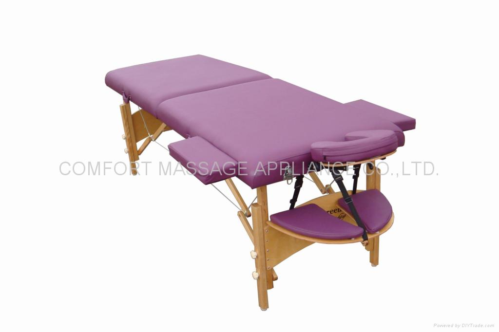 New MT-006S-2 wooden massage table