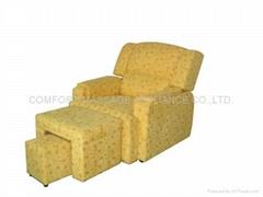 休闲电动足浴沙发-3号布料