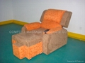 LEISURE FOOT BATH/MASSAGE  ELECTRIC SOFA WITH 2# AND 7# COLOR 2