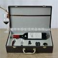 花梨木酒刀5件套单支酒箱