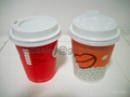 8oz /12oz /16oz Double wall Hot Coffee Paper Cups 4