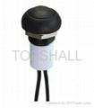 12mm plastic led push button/led switch/illuminated switch 2