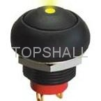 Plastic push button switch/push button/push on switch 5