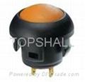 12mm plastic led push button/led switch/illuminated switch 4