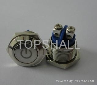 12mm push switches/press button siwtch/led power switch 4