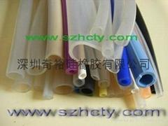 耐高溫硅膠管