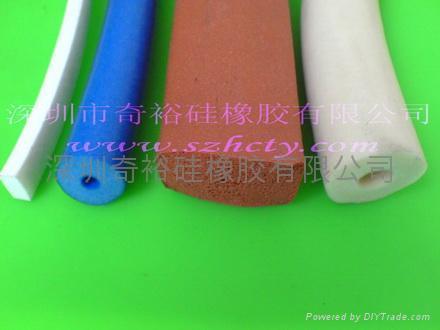 硅膠發泡管條 1
