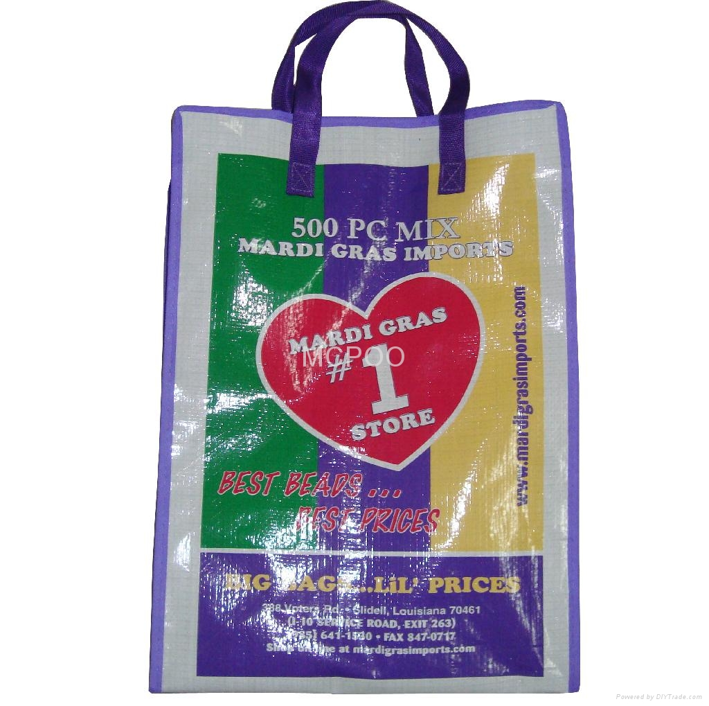 pp woven packing bag strong rice bag 5