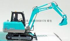 挖土機模型模具