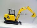 挖土機模型模具 2