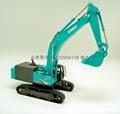 挖土機模型模具 3