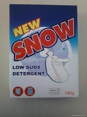 High foam washing detergent powder