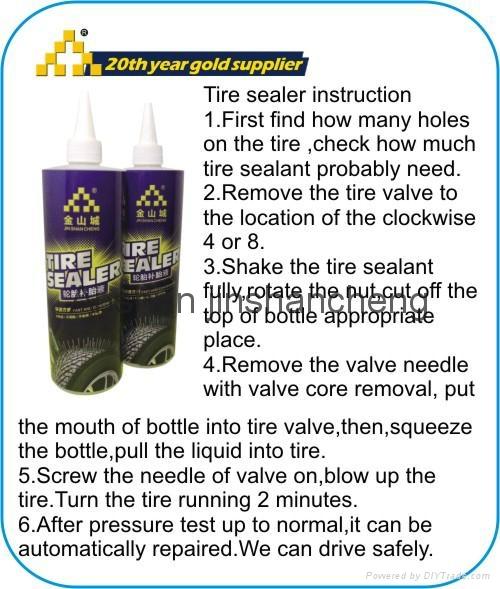 tyre emergency tools bag tyre sealer tyre sealant tyre inflator 3