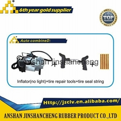emergency tools kit air pump tyre inflator