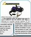 tyre inflator air pump tyre sealer tyre