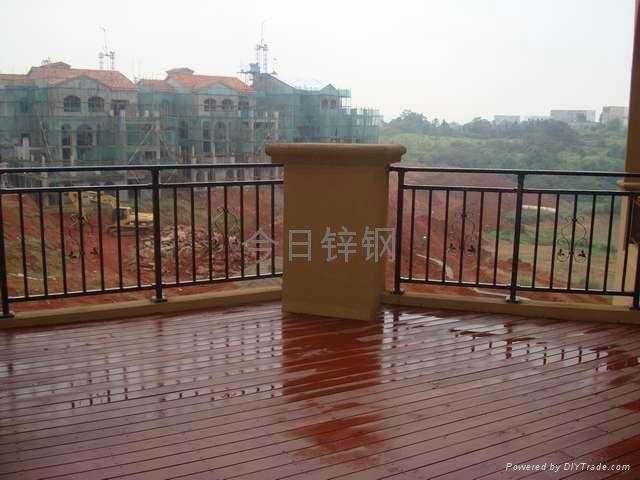 广东红顺缘锌钢护栏 2